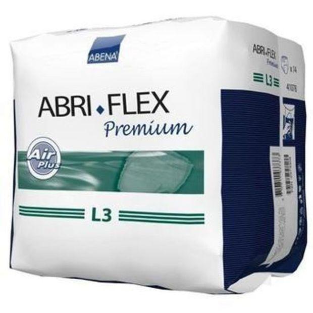 Fralda-abre-flex-abena-Premium-L3-C-14-unidades